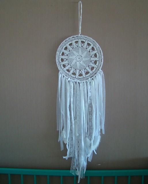 Filtro dos Sonhos Branco, By Silvia para Casa de Maria