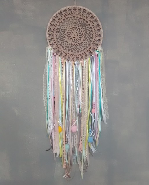 Filtro dos Sonhos By Silvia para Casa de Maria Pom Pom Croche