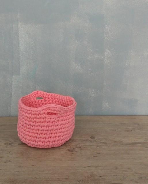 Cesto de Croche Salmão de Malha ecológica
