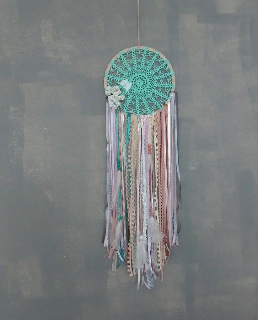 Filtro dos Sonhos Verde Menta